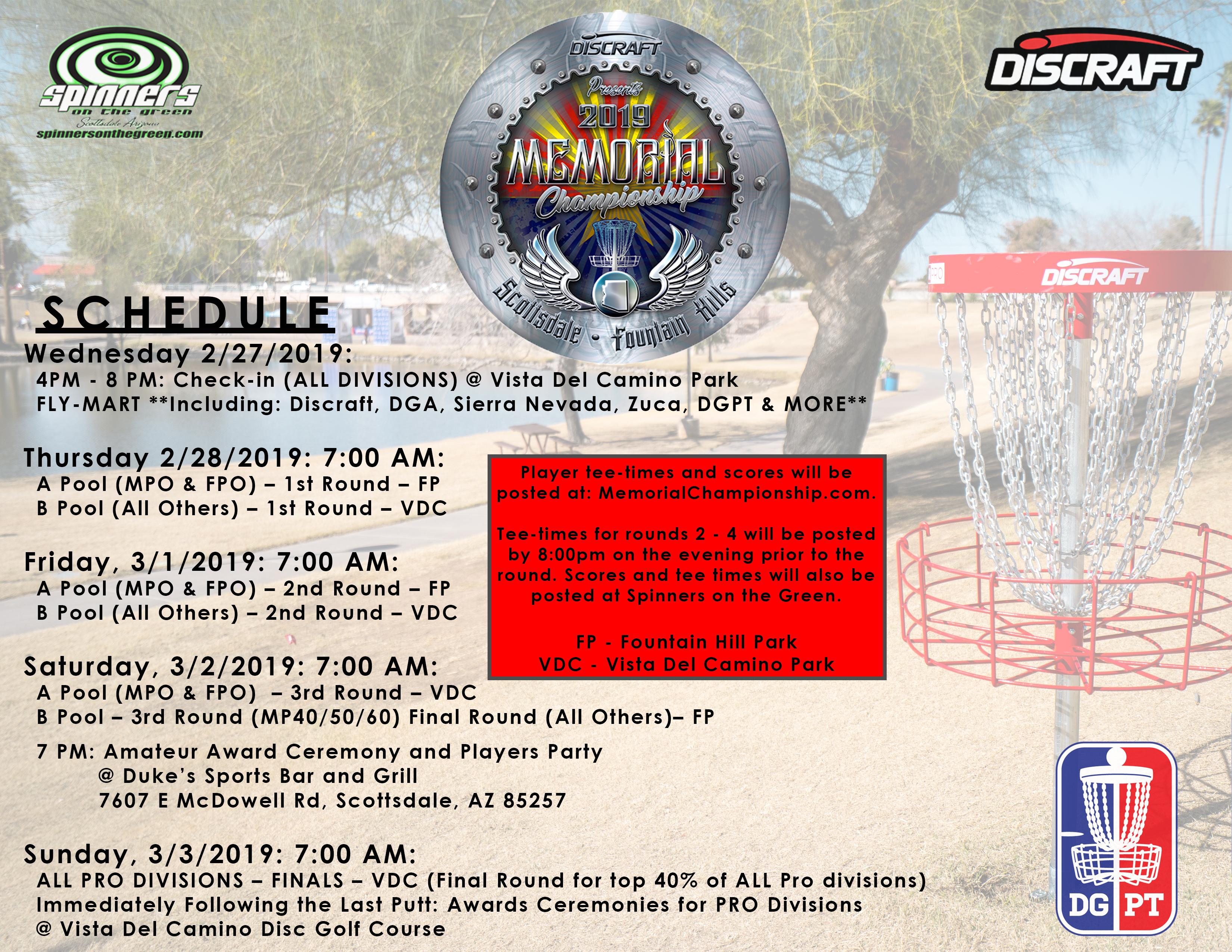 Disc Golf Pro Tour - Memorial Championship